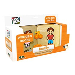 Family Wooden Book