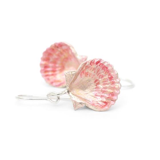 Fan Shell Earrings