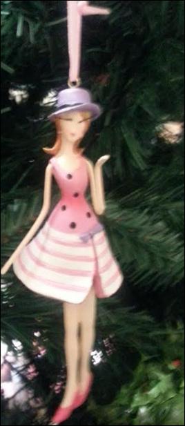 Fancy girl decoration
