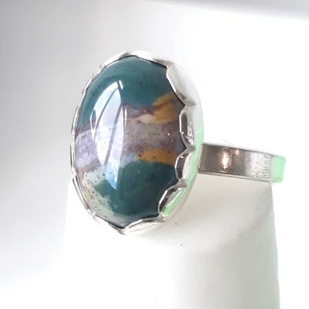 Fancy Jasper Ring