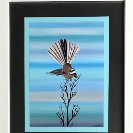 Fantail - Blue/Black - medium frame