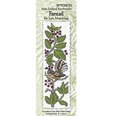 Fantail Bookmark Stitching Kit