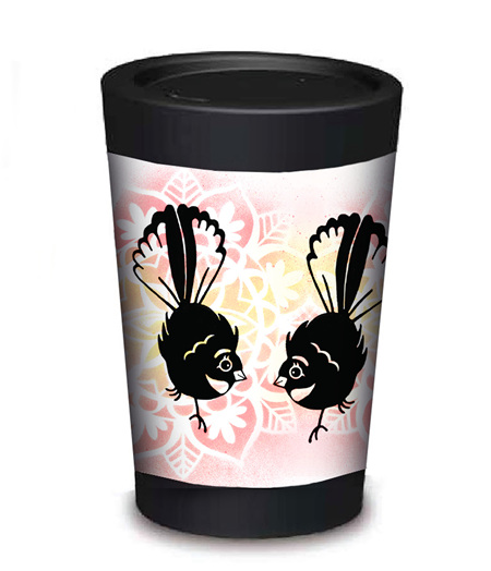 fantail coffee cup