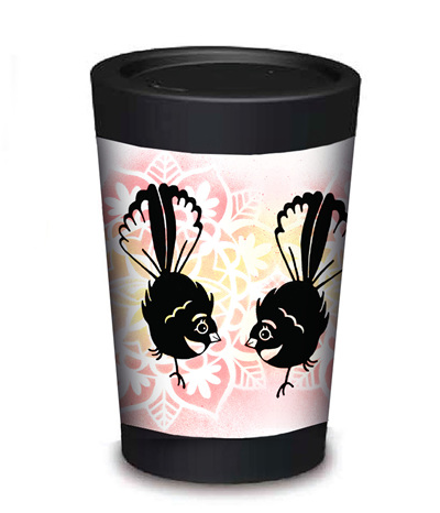 fantail coffee cup - large