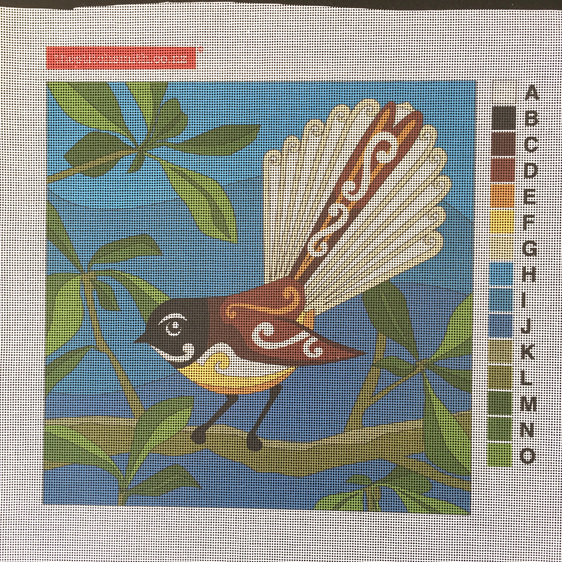 fantail needlepoint