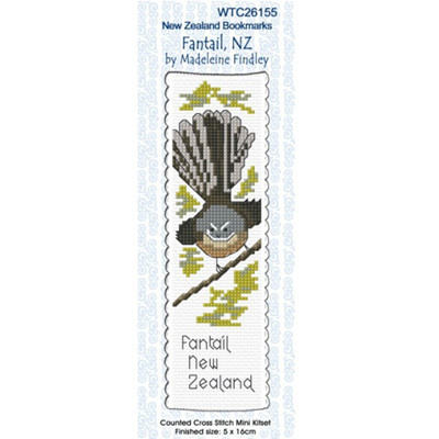 Fantail NZ Bookmark Stitching Kit