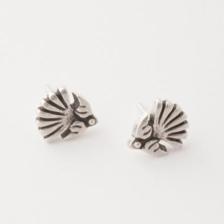 Fantail Stud Earrings
