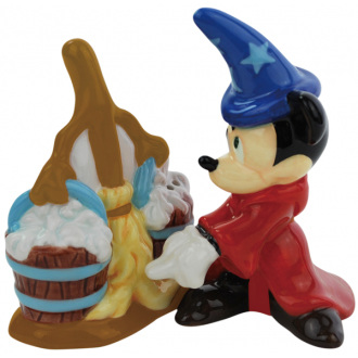 Fantasia Mickey & Broom Salt & Pepper