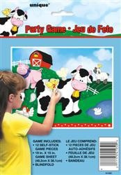 Farm Friends Blindfold Party Game
