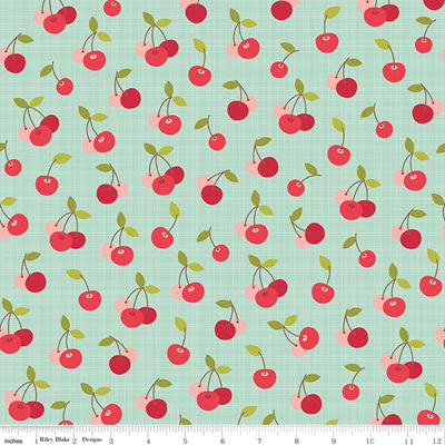 Farm Girl - Cherry Pie Teal