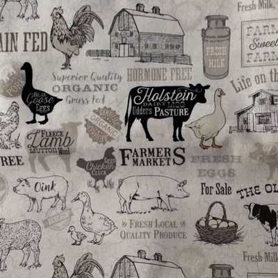 Farm To Table - Sepia Labels