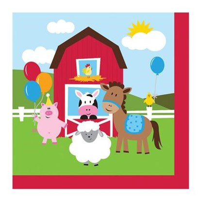 Farmhouse Fun napkins