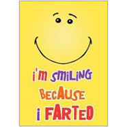 Farted Fridge Magnet