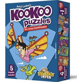 Fat Brain Toys KooKoo Fliers Puzzle