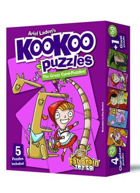 Fat Brain Toys KooKoo Puzzle Classic Fairy Tales