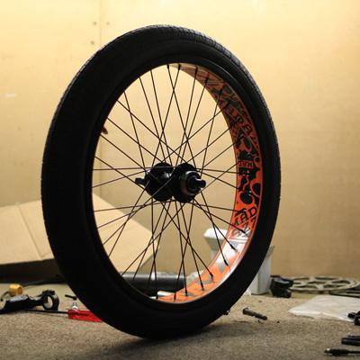 FATAZZ Front Wheel