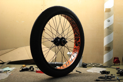 FATAZZ Front Wheel