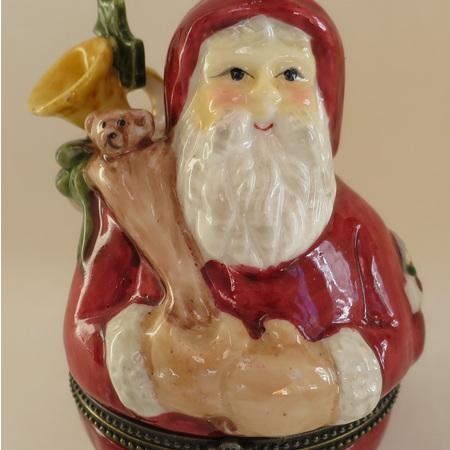 Father Christmas trinket box