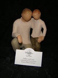 Father & Son - Willow Tree