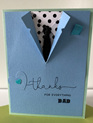 Father's Day Card - Blue Jacket