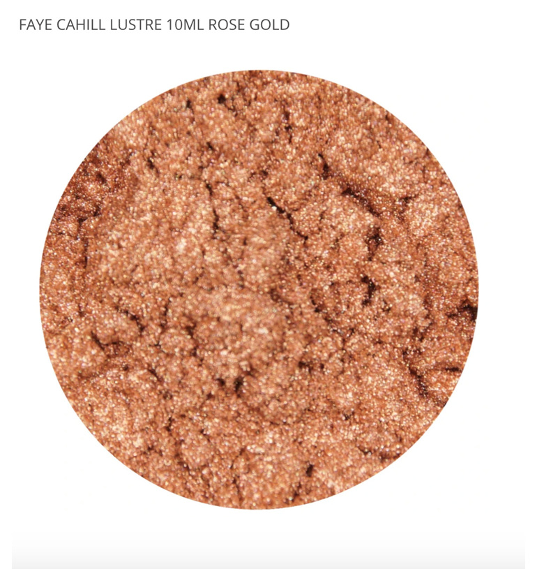 FAYE CAHILL LUSTRE 10ML - ROSE GOLD