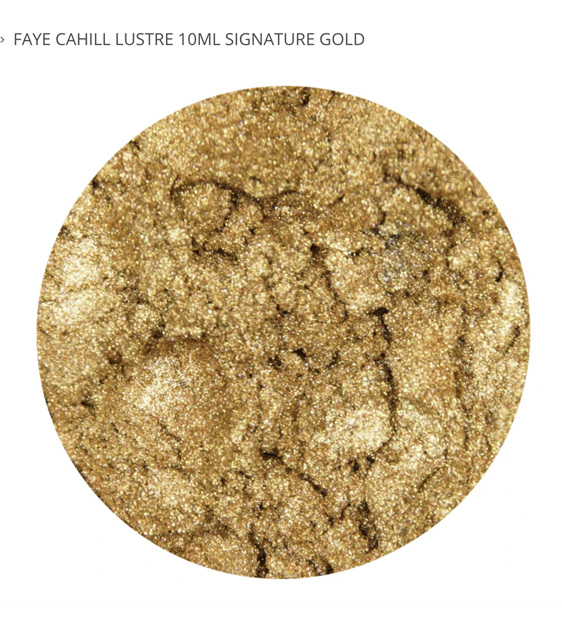 FAYE CAHILL LUSTRE 10ML - SIGNATURE GOLD