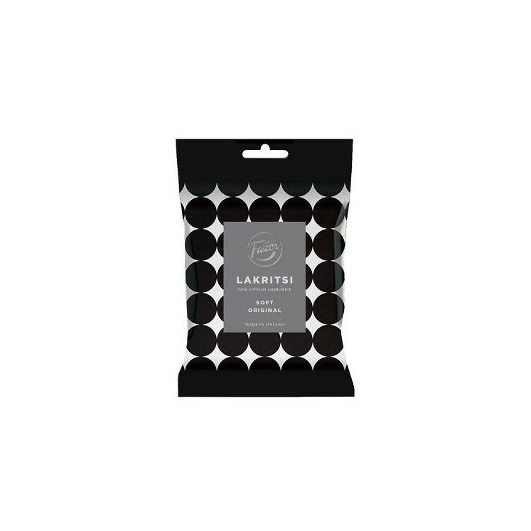Fazer Lakritsi Soft Original Black Licorice 150g