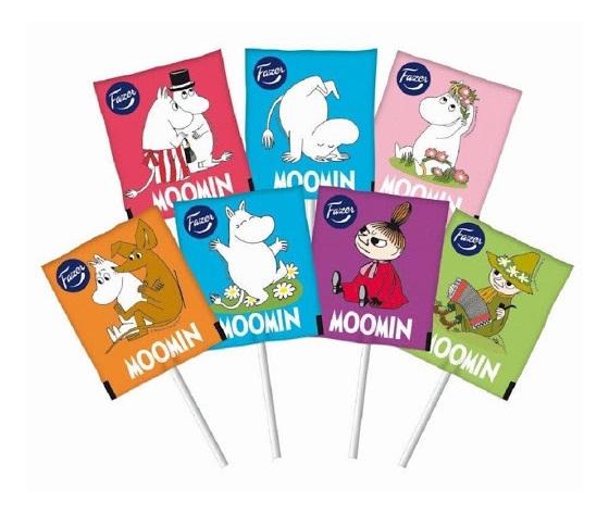 Fazer Moomin Lollipops