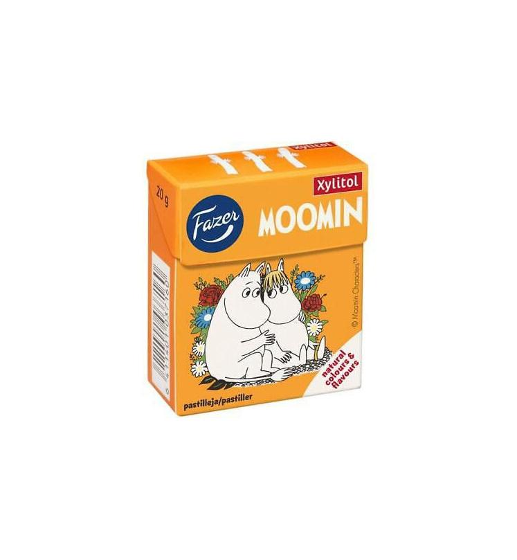 Fazer Moomin Xylitol Soft Pastilles 20g