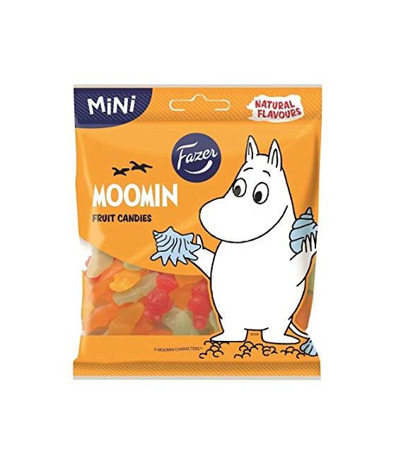 Fazer Moomins Winegums 80g Bag