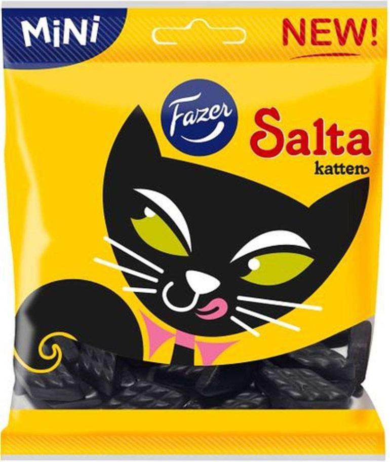 Fazer Salty Cats 80g