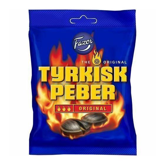 Fazer Tyrkisk Peber 150g