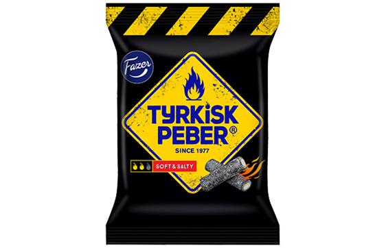 Fazer Tyrkisk Peber Soft and Salty 120g