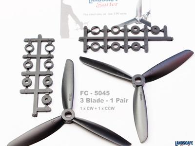 FC - 5045 - 3 Blade - 1 Pair
