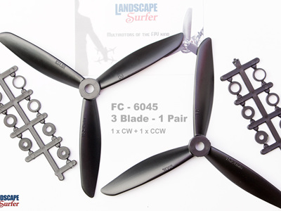 FC - 6045 - 3 Blade - 1 Pair
