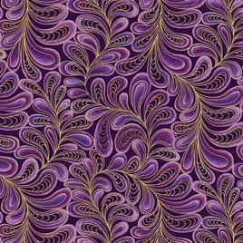 Feather Frolic Purple 420566