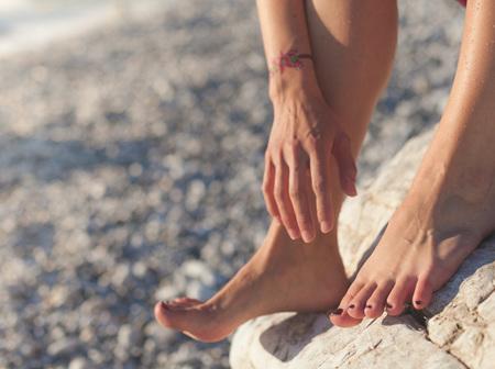 Feet File & Polish