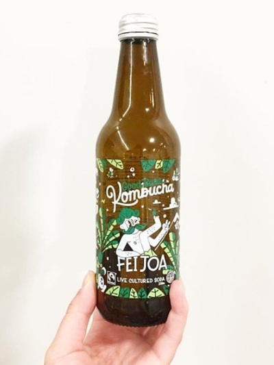 Feijoa Booch Probiotic Drink - 2 Sizes
