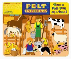 Felt Creations Story Board Barnyard