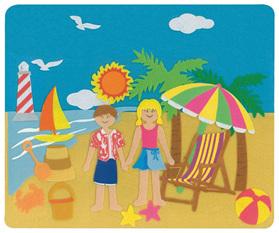 Felt Creations Story Board Beach