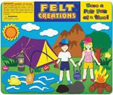 Felt Creations Story Board Camping
