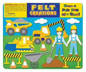 Felt Creations Story Board Construction