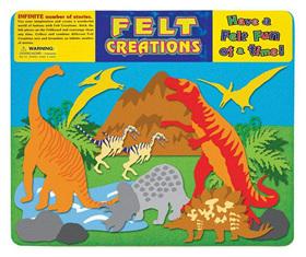 Felt Creations Story Board Dinosaurs