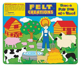 Felt Creations Story Board Farm