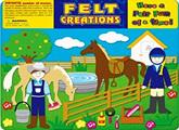 Felt Creations Story Board Horse