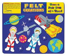 Felt Creations Story Board Outer Space