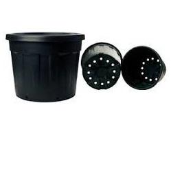 Fenice Decorative Production Tub 15lt Black