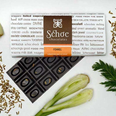 Fennel chocolate
