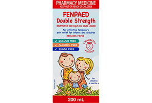 Fenpaed Double Strength Oral Liquid 200ml
