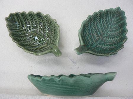 Fern dip bowl